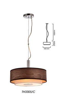 Lampara Decorativa Colgante de la Linea Mantra, marca Tecnolite Home