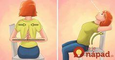 Ako si zlepšiť držanie tela len za 2 minúty denne a zabezpečiť si tak dobré zdravie po zvyšok života Good Posture, Improve Posture, Posture Exercises, Calisthenics Workout, Chair Yoga, Posture Correction, Yin Yoga, Coping Skills, Tai Chi