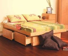 Twin Platform Beds Pictures