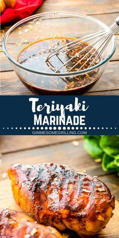 Teriyaki Marinade is a delicious marinade that is quick and easy! It's perfect for grilling steak, chicken or pork! Teriyaki Marinade is a delicious marinade that is quick and easy! It's perfect for grilling steak, chicken or pork! Chicken Marinade Recipes, Marinade Sauce, Chicken Marinades, Grilling Recipes, Cooking Recipes, Chicken Teriyaki Recipe, Rub Recipes, Barbecue Recipes, Steak Recipes