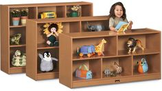 Sproutz® Single Mobile Storage - Eco-friendly storage helps keep classrooms in harmony.
