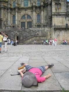 this might be how I look at the end of the camino, if I make it that far.