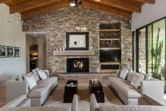 Contemporary Phoenix Home contemporary living room
