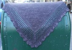 Aestlight shawl I just finished. My second shawl and I love love love it