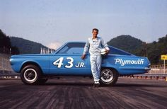 """The """"King"""" in his drag racing days, circa 1966."""