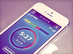 Dribbble - Secret sport app by Dmitriy Chuta