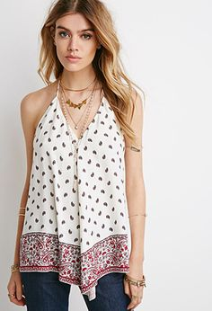 Paisley Print Halter Top | Forever 21 | #thelatest