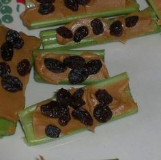 Easy To Make - Ants On A Log Are A Healthy Snack Kids Love