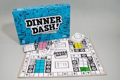 If only this student designed board game actually existed. What fun!