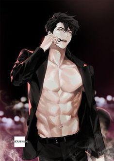 Dark Anime Guys, Cool Anime Guys, Hot Anime Boy, Handsome Anime Guys, Anime Sexy, Anime Girls, Anime Naruto, Manga Anime, Manga Girl