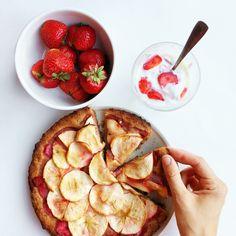 Клубнично-яблочный пирог с лимонным кремом | Salatshop ♥ You | Bloglovin'