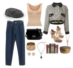 """""""Antiques"""" by mia-a-oviatt on Polyvore featuring American Vintage, Chanel, French Connection, Chelsea Crew, Vintage, Betsey Johnson, Global Views, The Giving Keys, vintage and women's clothing"""