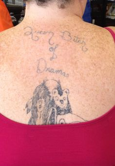 Lock your doors, boys. Lock your doors!.... 16 more horrible tattoos!