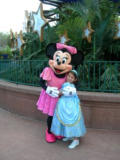 Emma and Minnie at Hollywood Studios