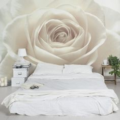 Rosentapete Fototapete Rosen Pretty White Rose Blumen Vliestapete Breit Pretty White Breit The post Rosentapete Fototapete Rosen Pretty White Rose Blumen Vliestapete Breit appeared first on Slaapkamer ideeën. Home Decor Furniture, Home Decor Bedroom, Bedroom Wall, Living Room Decor, 3d Wallpaper Mural, Rose Wallpaper, Photo Wallpaper, Deco Zen, Large Wall Murals