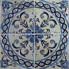 Azulejo Português / Portuguese Tiles - São Luís, Maranhão