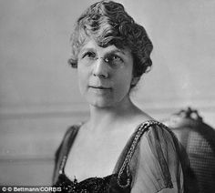 Florence Harding: She was known as 'the Duchess' at the White House because of her elegant parties with her husband Warren