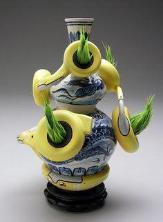 Brendan Tang, ceramic design, Musée d'art contemporain de Montréal, Museum London, unconventional ceramic design ?
