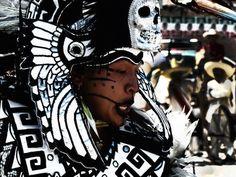 mictlanfvckyeah: Chamacuero en Día de Muertos