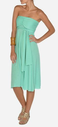 Mint Six-in-One Convertible Dress