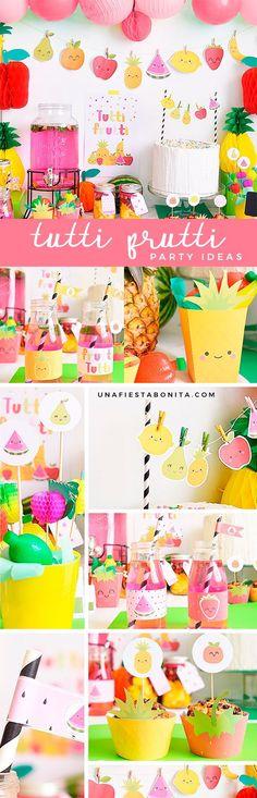 Party ideas Tutti Frutti