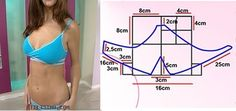 Diy idea how to make tutorial sew swimsuit bra Lingerie Patterns, Sewing Lingerie, Clothing Patterns, Sewing Patterns, Sewing Clothes, Diy Clothes, Sewing Hacks, Sewing Tutorials, Old Bras