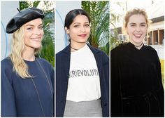 Jaime King Freida Pinto and Kiernan Shipka at the Christian Dior Cruise 2018 Welcome Dinner
