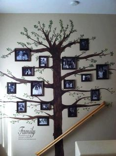 Family Tree Wall - I am going to do this