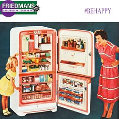 More Space. More Storage. More happiness. Check out our refrigerators and make a choice that makes YOU happy!