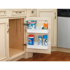 Make the best use of your space with an In-Cabinet Plastic Organizer from Lowe's Canada.