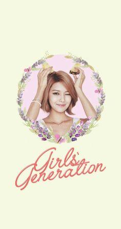 Girls' Generation SNSD Sooyoung Lockscreen Phone Wallpaper
