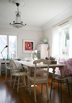 HJERTEROM: Inger Lill valgte stort bord og god plass med vilje; her skulle mange…