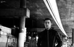 joseph gordon levitt, location, editorial fashion, mens apparel, bridge, GQ,
