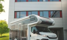 German camper manufacturer Dethleffs has unveiled the e.home concept – a solar-powered electric motorhome.