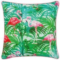 Kissen Flamingo 45x45 cm (Synthetikfüllung)