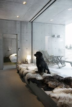 Hytte Sirdalen is a minimal home located in Sirdal, Norway, designed by Filter Arkitekter.