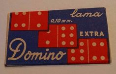 lama DOMINO Double Edge Safety RAZOR BLADE in Wrapper RBW Italy