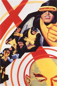 """Few are better than Steve 'the Dude' Rude. Gorgeous. - """"Children of the Atom by Steve Rude"""""""