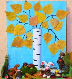 Autumn Crafts, Autumn Art, Nature Crafts, Autumn Theme, Autumn Activities For Kids, Creative Activities, Craft Activities, Diy For Kids, Crafts For Kids