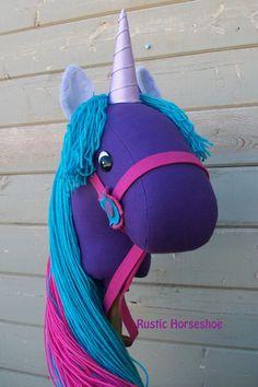 Melody Unicorn Stick Horse or Pony by RusticHorseShoe