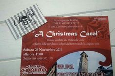 Esperimento Zeta sul palco del Teatro Viganò presenta - A Christmas Carol