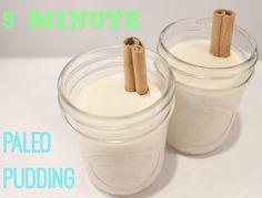 5 Minute Paleo Pudding