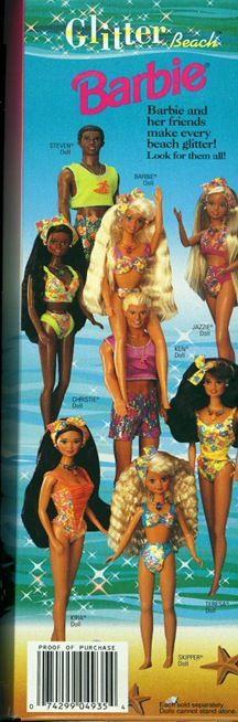 Glitter Barbie
