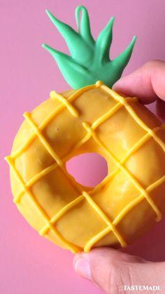 Crazy Cakes, Fun Baking Recipes, Donut Recipes, Delicious Donuts, Yummy Food, Köstliche Desserts, Dessert Recipes, Cute Donuts, Donuts Donuts