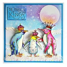 Pink Ink Designs Pink Ink Designs - Clear Stamp - We Three Kings - Pink Ink Design Stamps - Craftasmic We Three Kings, Lavinia Stamps, Ink Stamps, Stamp Making, Animal Cards, Heartfelt Creations, Card Making Inspiration, Hand Illustration, Xmas Cards
