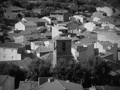 """HINOJOSA DE SAN VICENTE (TOLEDO) Vistas de Hinojosa desde """"Santiago""""."""