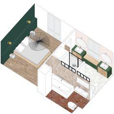 Collage Architecture, Architecture Parisienne, Architecture Concept Drawings, Architecture Visualization, Architecture Plan, Interior Design Presentation, Architecture Presentation Board, Autocad, Presentation Template Free