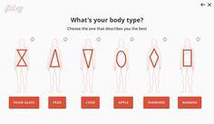 Fitbay tallas online adecuadas Tienda de moda online personalizada, esconde la ropa que no se ajuste al cuerpo del cliente