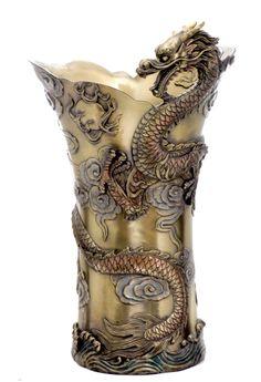 Chinese Dragon Large Vase