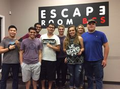 This group was able to outwit Sheriff McLarren and escaped in 41 minutes!